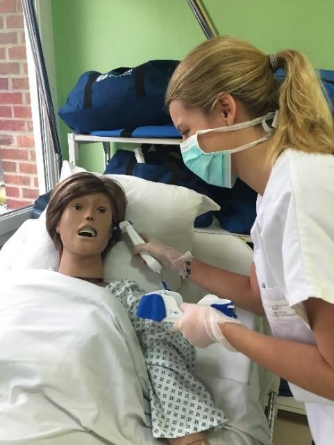 Formation pratique infirmière à l'IFSI IFAS Lisieux