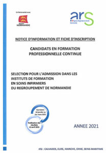 Notice d'information et fiche d'inscription IFPS Lisieux 2021