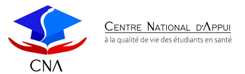 Centre National d'Appui qualité de vie des étudiants