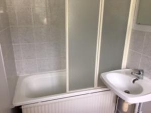 Salle de bain du foyer des infirmiers de Lisieux